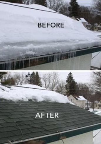 Snow Removal and Ice Dam Removal